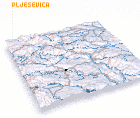 3d view of Plješevica