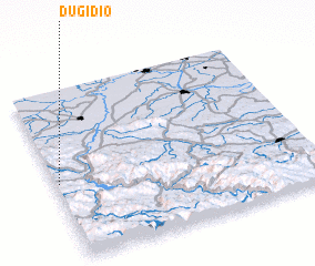 3d view of Dugi Dio