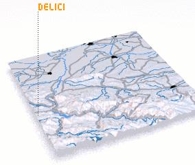 3d view of Delići