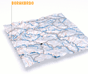 3d view of Borak Brdo