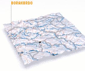 3d view of Borak Brdo