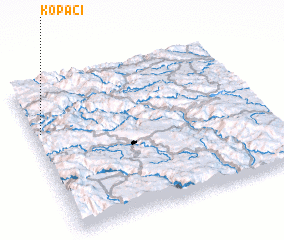 3d view of Kopači