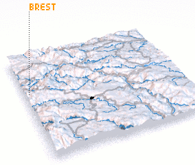 3d view of Brest