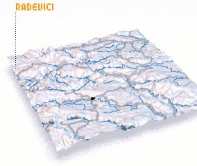 3d view of Rađevići