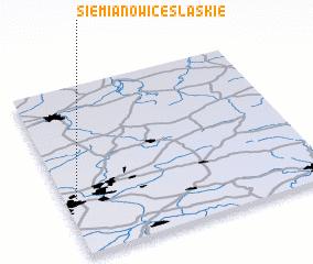 3d view of Siemianowice Śląskie