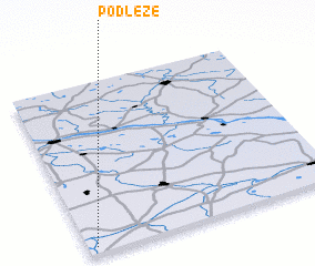 3d view of Podłęże
