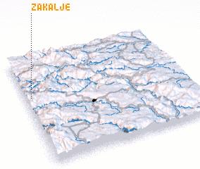 3d view of Zakalje