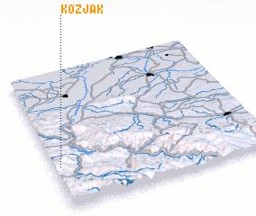 3d view of Kozjak