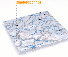 3d view of Snagovo Gornje