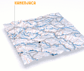 3d view of Kamenjača