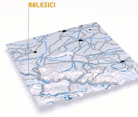 3d view of Malešići