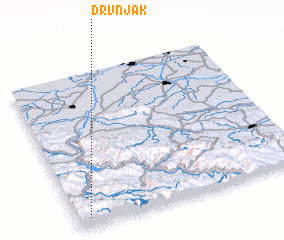 3d view of Drvnjak