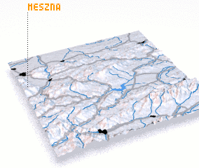 3d view of Meszna