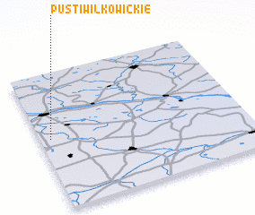 3d view of Pusti Wilkowickie