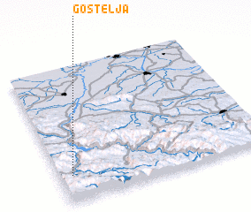 3d view of Gostelja