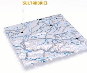 3d view of Sultanovići