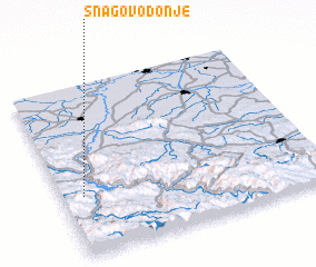 3d view of Snagovo Donje