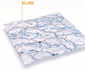 3d view of Kljun
