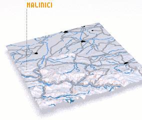 3d view of Malinići