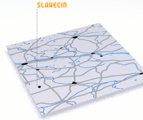 3d view of Sławęcin