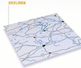 3d view of Koślinka