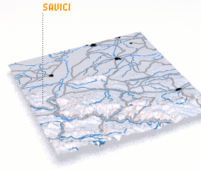 3d view of Savići