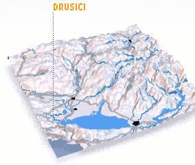 3d view of Drušići