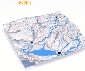 3d view of (( Razići ))