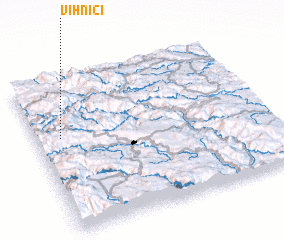 3d view of Vihnići