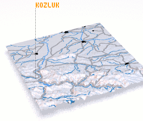 3d view of Kozluk