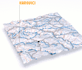 3d view of Karovići