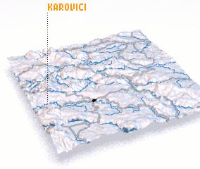 3d view of Karovići