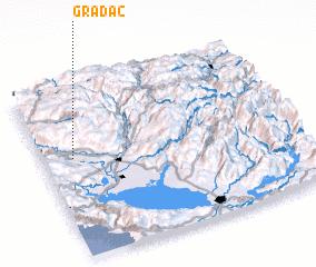 3d view of (( Gradac ))