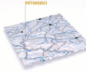 3d view of Potokovići