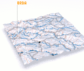 3d view of Brda