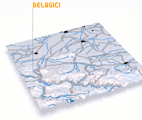 3d view of Delagići