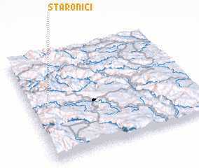 3d view of Staronići