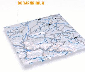 3d view of Donja Mahala