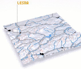 3d view of Leśna