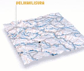 3d view of Velika Klisura