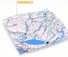 3d view of (( Simonovići ))