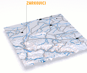 3d view of Žarkovići