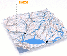 3d view of Medeže