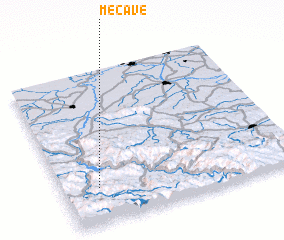 3d view of Mećave