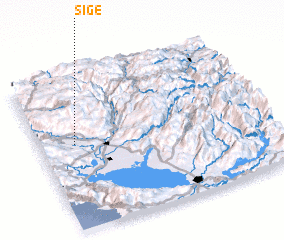 3d view of Sige