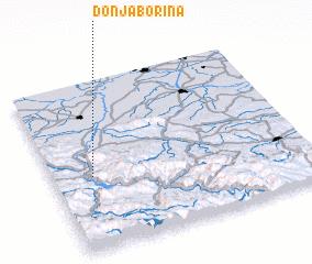 3d view of Donja Borina