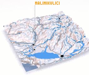 3d view of Mali Mikulići