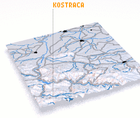 3d view of Kostrača