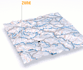 3d view of Žune