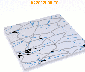 3d view of Brzeczkowice